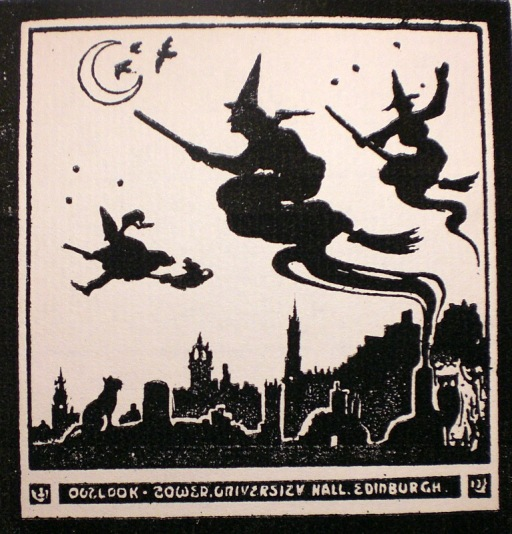 Witches over Edinburgh
