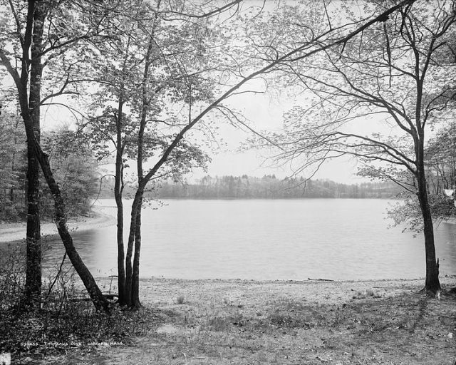 http://commons.wikimedia.org/wiki/File:Walden_Pond.jpg