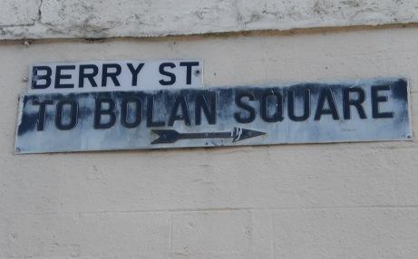 Chuck & Mark - Lochgelly Street Sign