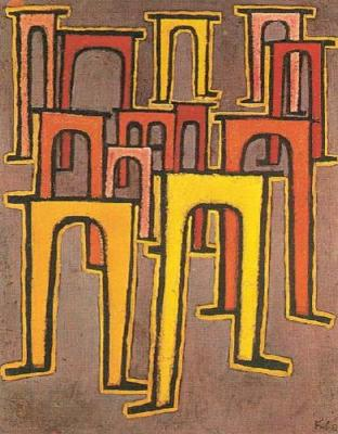 Paul Klee - Revolution des Viadukts, (1937)