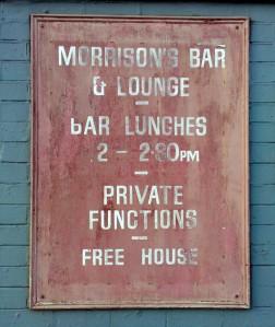Morrison's Bar 1