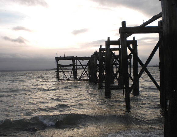 At the Ghost Pier 28.12.13